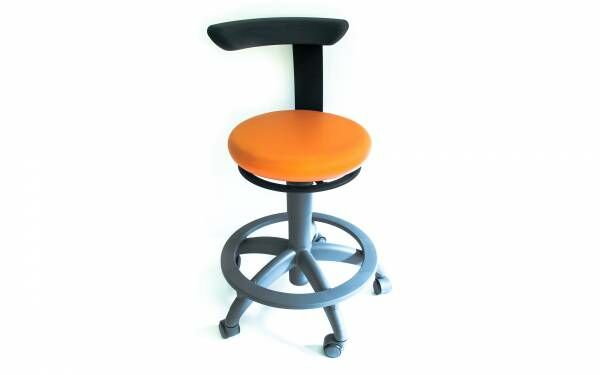 Sirona Carl Manual Plus Arbeitssessel - orange