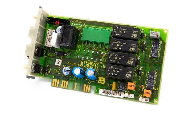 SIEMENS Sirona C1 - Verteiler Lichtmodul Platine AV - 89 35 595